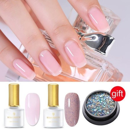 set-jelly-pink-semi-transparent-gel-and-foggy-gel-gift-one-mixed-rhinestones